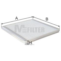 Фильтр салона (M-Filter) K980