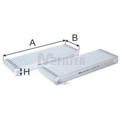 Фильтр салона (M-Filter) K9872