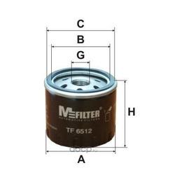 Фильтр масляный (M-Filter) TF6512