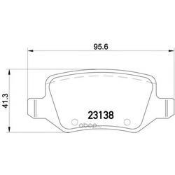 Комплект тормозных колодок, дисковый тормоз (Mintex) MDB2111