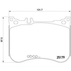 Комплект тормозных колодок, дисковый тормоз (Mintex) MDB3279