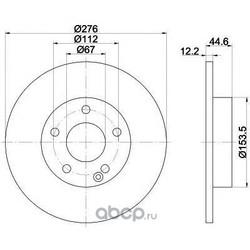Тормозной диск (Mintex) MDC1751
