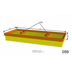 Воздушный фильтр (MISFAT) P451