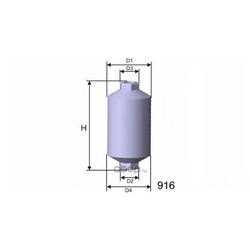 Топливный фильтр (MISFAT) E511