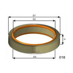 Воздушный фильтр (MISFAT) P807