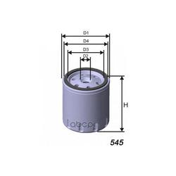 Масляный фильтр (MISFAT) Z130