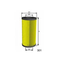 Масляный фильтр (MISFAT) L025