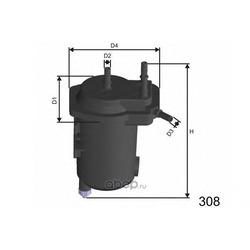 Топливный фильтр (MISFAT) F121