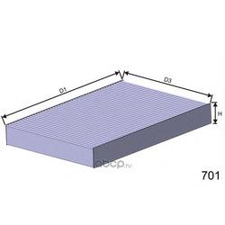 Фильтр, воздух во внутренном пространстве (MISFAT) HB174