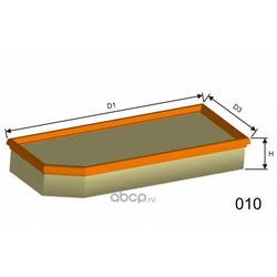 Воздушный фильтр (MISFAT) P445
