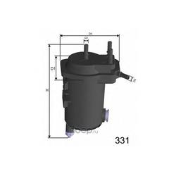 Топливный фильтр (MISFAT) F124A