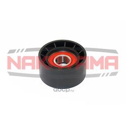 Паразитный / ведущий ролик, поликлиновой ремень (NAKAYAMA) QJ31190