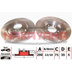 Тормозной диск (NAKAYAMA) Q4873
