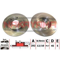 Диск тормозной (NAKAYAMA) Q4730