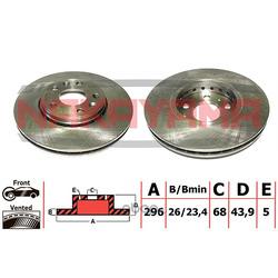 Тормозной диск (NAKAYAMA) Q5137