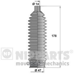 Комплект пылника, рулевое управление (Nipparts) J2840504