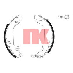 Комплект тормозных колодок (Nk) 2739476