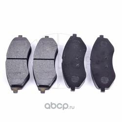 Колодки тормозные передние CHEVROLET Aveo (NSP) NSP0196534653