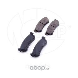 Колодки тормозные задние CHEVROLET Lacetti (NSP) NSP0196405131