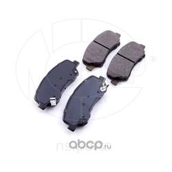 Колодки тормозные передние HYUNDAI Solaris (NSP) NSP02581014LA00