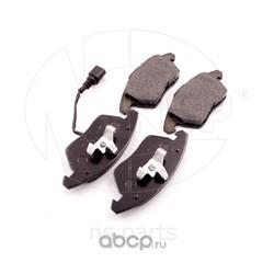 Колодки тормозные дисковые передние SKODA OCATVIA (NSP) NSP085K0698151