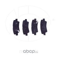 Колодки тормозные задние дисковые HYUNDAI Solaris (NSP) NSP02583021RA30