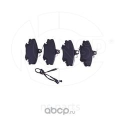 Колодки тормозные передние RENAULT Logan (NSP) NSP07410602192R