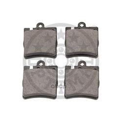 Комплект тормозных колодок, дисковый тормоз (Optimal) 10340