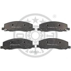 Комплект тормозных колодок, дисковый тормоз (Optimal) 12456