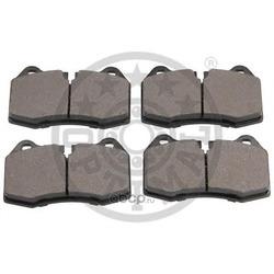 Комплект тормозных колодок, дисковый тормоз (Optimal) 12522