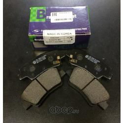 Комплект тормозных колодок (Parts-Mall) PKBE37