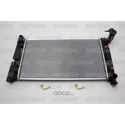 Радиатор системы охлаждения TOYOTA: COROLLA 1.4 VVT-i/1.6 VVT-i/1.8 VVTL-i TS 01- (PATRON) PRS3350