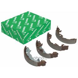 Колодки тормозные барабанные задние со скобами ручника (PILENGA) BSP8636