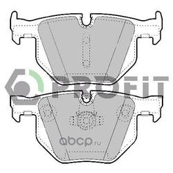 Комплект тормозных колодок, дисковый тормоз (PROFIT) 50001748