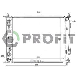 Радиатор (PROFIT) PR2908A1