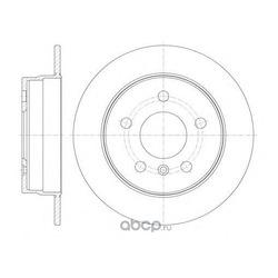 Тормозной диск (Remsa) 6106500