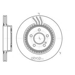 Тормозной диск (Remsa) 6107110