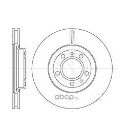 Тормозной диск (Remsa) 686910