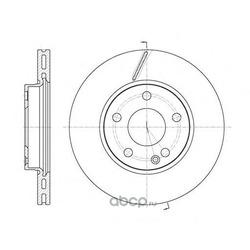 Тормозной диск (Remsa) 667510