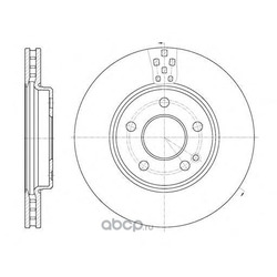 Тормозной диск (Remsa) 6102910