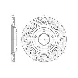 Тормозной диск (Remsa) 685910