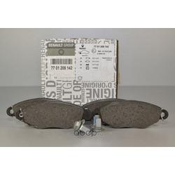 Комплект тормозных колодок, дисковый тормоз (RENAULT) 7701208142