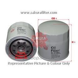 Масляный фильтр (Sakura) C1102