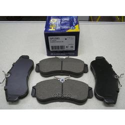 КОЛОДКИ ТОРМОЗНЫЕ ПЕРЕДНИЕ (Sangsin brake) SP1581