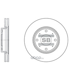 ДИСК ТОРМОЗНОЙ (Sangsin brake) SD2029