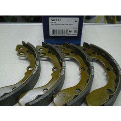 КОЛОДКИ ТОРМОЗНЫЕ ЗАДНИЕ (БАРАБАННЫЕ) (Sangsin brake) SA137