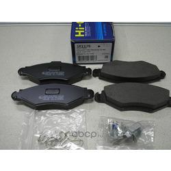 Колодки тормозные передние (Sangsin brake) SP1179