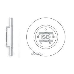 ДИСК ТОРМОЗНОЙ (Sangsin brake) SD1060