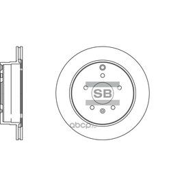 Тормозной диск (Sangsin brake) SD3039