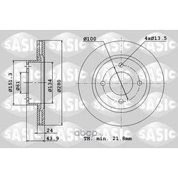 Тормозной диск (Sasic) 4004295J